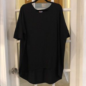 Lularoe XL Black Shirt